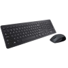 Dell Wireless Keyboard and Mouse KM636 - Black