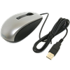 Dell Laser Scroll USB (6 Buttons) Silver and Black Mouse