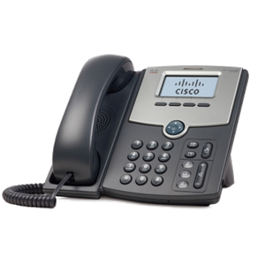 1 Line IP Phone With Display, PoE, PC Port