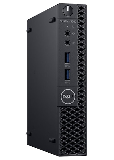 Dell OptiPlex 3060 Micro i3-8100T/4GB/SSD128GB/WLAN/Win10Pro