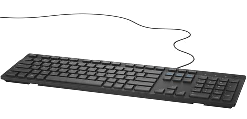 Dell Keyboard Multimedia KB216 - Croatian Layout