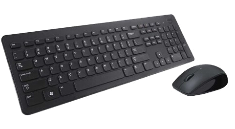 Dell Keyboard and Mouse Wireless KM636 - Black