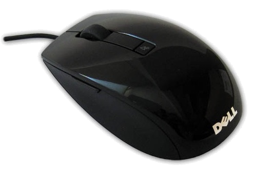 Dell Mouse USB Laser (6 buttons scroll) Black