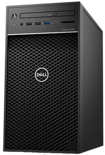 Dell Precision T3630 i5-8500/8GB/SSD256GB/WX3100-4GB/300W/Win10Pro
