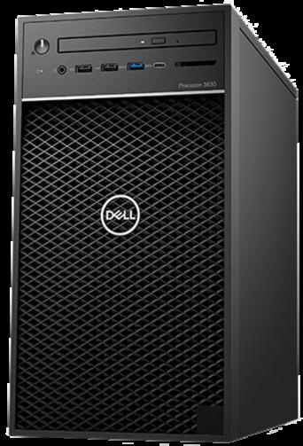 Dell Precision T3630 i5-9600/8GB/M.2-PCIe-SSD256GB/WX3200-4GB/300W/Win10Pro