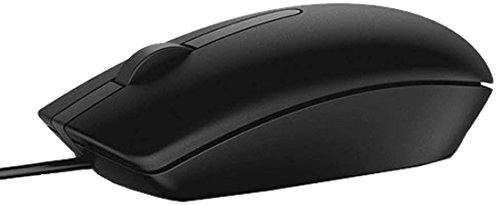 Dell Mouse USB Optical MS116 - Black 570-AAIS